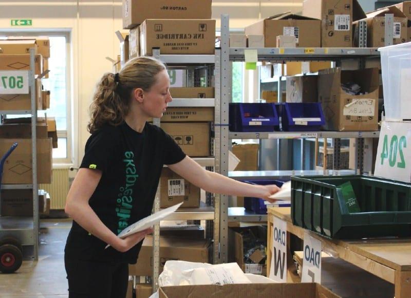en person ved navn emma som er ved at lave vikararbejde i københavn for en virksomhed